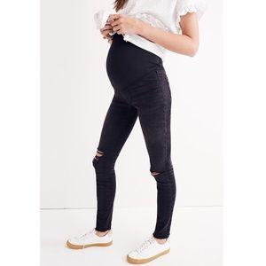 EUC Madewell Denim Maternity Over-the-Belly Skinny
